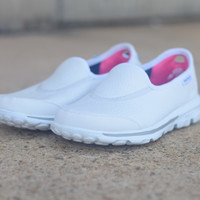 GOwalk by Skechers {White} | 13767/WHT
