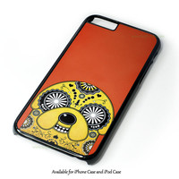 Adventure Time Jake Finn In Dr Who Tardis Call Box Galaxy Nebula Design for iPhone and iPod Touch Case