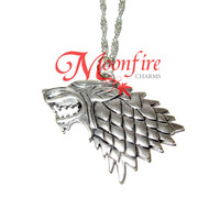 GAME OF THRONES House Stark Direwolf Necklace