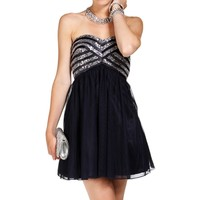 Promo-meyer-navy Prom Dress