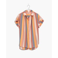 Central Shirt in Sherbet Stripe : shopmadewell button-up & popover shirts | Madewell