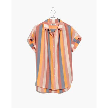 Central Shirt in Sherbet Stripe : shopmadewell button-up & popover shirts   Madewell