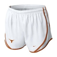 Nike Women's Texas Longhorns White Tempo Running Shorts