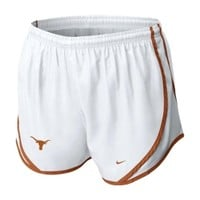 Nike Women's NCAA Texas Tempo Shorts - Dick's Sporting Goods