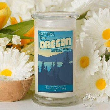 Greetings From Oregon - Greetings From Candles