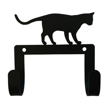 Wrought Iron Cat Dog Leash Dog Leash & Collar Wall Hook