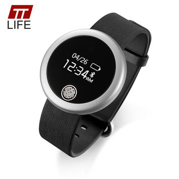 TTLIFE Men Women Smart Watch Heart Rate Monitor Sleep Monitor Anti-lose Reminder Bluetooth Pedometer Bracelet For IOS Android