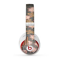 The Cartoon Muddy Pigs Skin for the Beats by Dre Studio (2013+ Version) Headphones