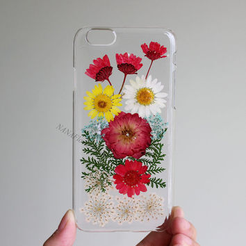 Pressed Flower iPhone 6 case real Flower iPhone 5 iPhone 5S case iPhone 6 Plus case iPhone 4 4S case iPhone 5C case Samsung Galaxy s3 s4 s5