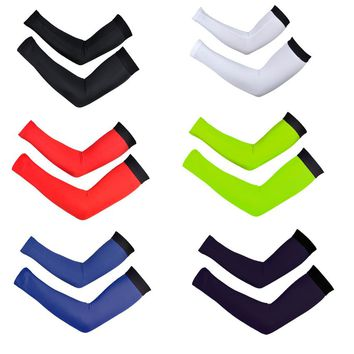 Simple Bike MTB Cycling Breathable Arm Warmer sports UV Protection armwarmers Cycles Oversleeve Sleeves Arm Sleeve Leg Warmers
