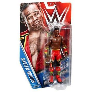 Xavier Woods WWE 2016 Smack Down Wrestling Action Figure NIB Mattel NIP WWF New Day