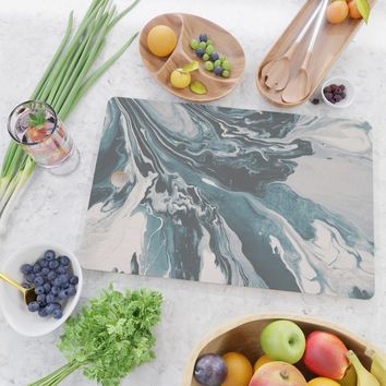 Teal (soul mate) Cutting Board by duckyb