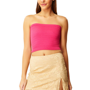 Dragon Fruit Pink Tube Top