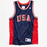Champion USA Mesh Jersey Tank Top