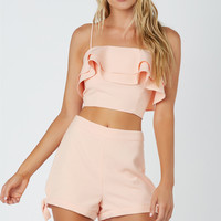 Just Peachy Crop Top
