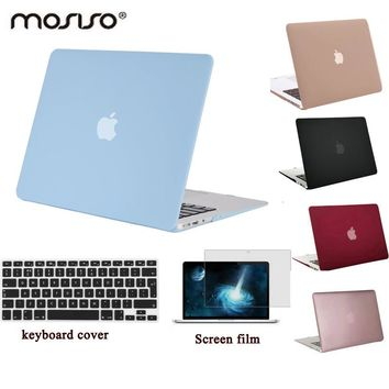MOSISO Clear Matte Pro 13 Retina A1425/A1502 Plastic Hard Case Cover for Macbook Air 13 A1466/A1369 Laptop Sleeve Cover Shell
