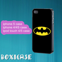 Batman--iphone 4 case,iphone 5 case,ipod touch 4 case,ipod touch 5 case,in plastic,silicone.cute iphone 5 case,cute ipod 5 case.ipod 4 case