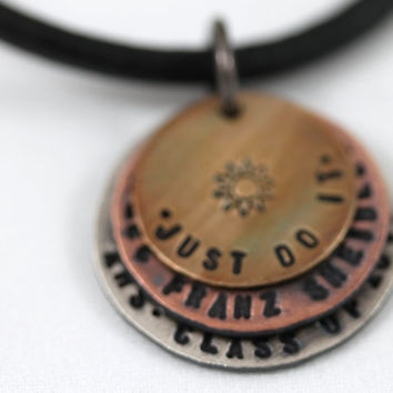 Graduation custom necklace Personalized by LustrousElements