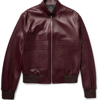 Paul Smith - Leather Bomber Jacket