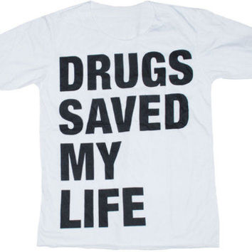 drugs t-shirt