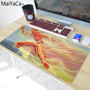 MaiYaCa Overlock Edge Big Gaming mouse Pad The most fire Super hero Mouse Pad  Send Boy Friend the Best Gift 40x90cm