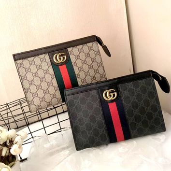 Free Shipping-GUCCI Personality Wild Small Square Clutch