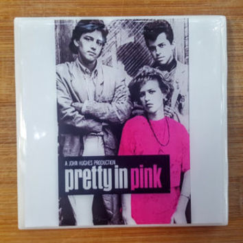 Single Tile Drink Coaster Pretty in Pink John Hughes  80s Movie Drink Coaster