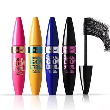 Professional Makeup 3D Fiber Rimel Mascara Volume and Lengthening Curling Express Eyelashes Extension Waterprrof Black Mascara