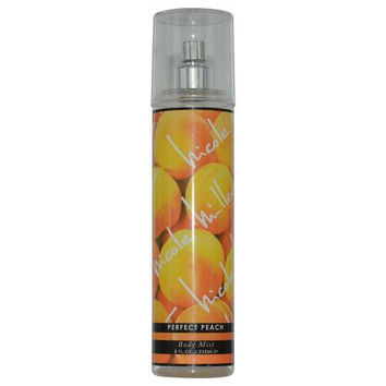 Nicole Miller Perfect Peach By Nicole Miller Body Mist Spray 8 Oz