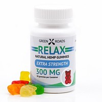 Green Roads CBD Relax Gummie Bears 300mg