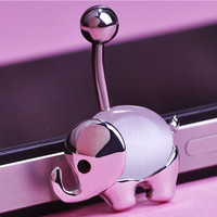 Cute Elephant Navel Belly Button Ring