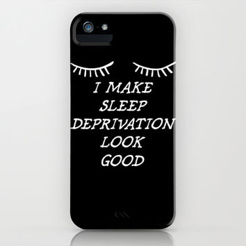 Sleep Deprivation iPhone & iPod Case by LookHUMAN