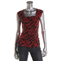 Style & Co. Womens Matte Jersey Sleeveless Pullover Top