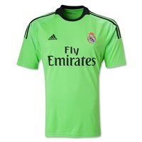 Real Madrid 13/14 Away Goalkeeper Soccer Jersey - WorldSoccerShop.com