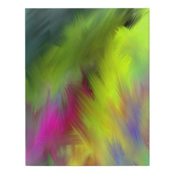Be Vivid Abstract Art 222 Faux Canvas Print