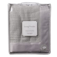Opentip.com: Living Textiles Baby 203053 Cradle/Bassinet Cellular Blanket - Grey