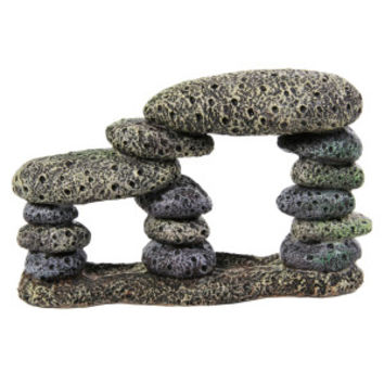 Top Fin Double Stacked Rock Aquarium Ornament | Ornaments | PetSmart