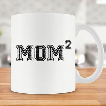 Mom Of 2 Gift Mug For Mom Gift Idea For Mothers Day Present Mom Of Two Mom Day Mommy Gift Mom Coffee Mug Best Coffee Cup Ceramic Mug - SA142