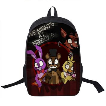 Anime  At Freddy Backpack For Teenagers Boys Girls School Bags  At Bag Children School Backpacks