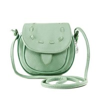 DSstyles Lovely Instant Camera PU Leather Carrying Shoulder Bag Case for Fujifilm Instax Mini 8 Case Bag Cover - Green