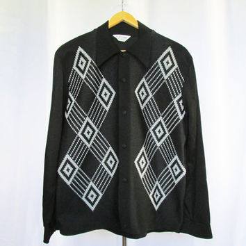 Men's 70s Shirt Gaucho Originals Vintage 70s L