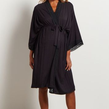 Black-Crochet-Trim-Dressing-Robe