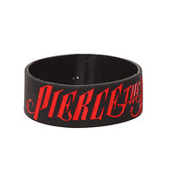 Pierce The Veil Logo Rubber Bracelet | Hot Topic