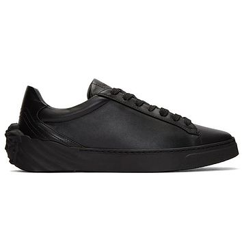 Boys & Men Versace Leather Old Skool Sneakers Sport Shoes