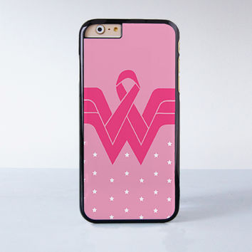 Wonder Woman Inspired Pink Design Plastic Case Cover for Apple iPhone 6 6 Plus 4 4s 5 5s 5c