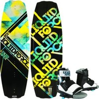 PS3 Wakeboard, 133cm, Size 8-12 Bindings - Liquid Force