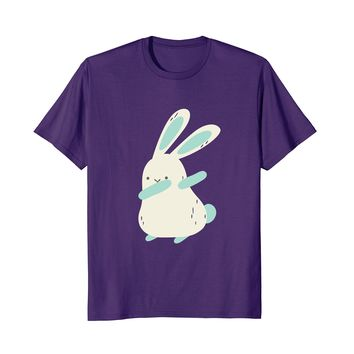 Dabbing Easter Bunny Shirt - Cute Hip Hop Dance Moves Rabbit