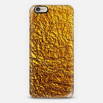 Golden Mess iPhone 6 case by Allison Reich | Casetify