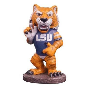 """LSU Tigers NCAA Mike the Tiger"""" College Mascot 20in Full Color Statue"""""""