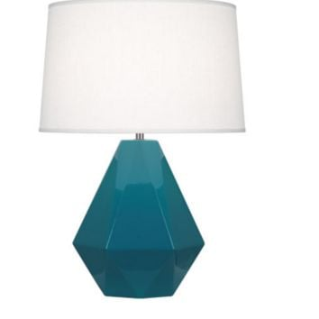 Gem Lamp- Peacock Blue